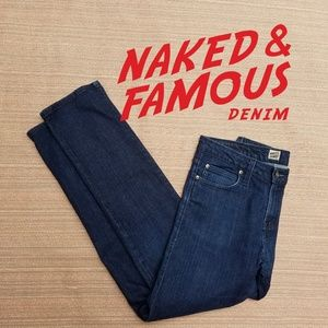 Naked and Famous skinny guy jeans